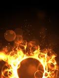 Anello del fuoco Fotografie Stock Libere da Diritti