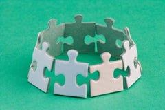 Anello del puzzle Fotografie Stock