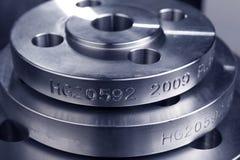 Anello della flangia del metallo Immagine Stock Libera da Diritti