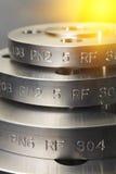 Anello della flangia del metallo Immagini Stock Libere da Diritti