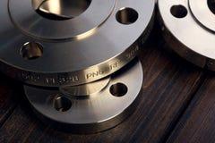Anello della flangia del metallo Immagine Stock
