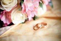 Anello 2 della sposa Fotografia Stock Libera da Diritti