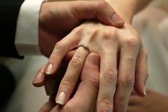 Anello di cerimonia nuziale fotografie stock libere da diritti