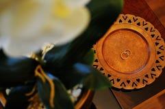 Anello di cerimonia nuziale Fotografia Stock Libera da Diritti
