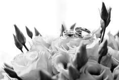 Anello di cerimonia nuziale Immagini Stock