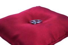 Anello di diamante Fotografie Stock