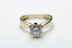 Anello di diamante Immagini Stock
