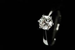 Anello di diamante Immagine Stock