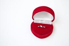 Anello di fidanzamento Immagine Stock Libera da Diritti
