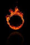 Anello di fuoco Immagini Stock