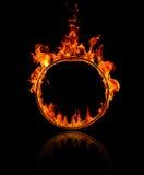 Anello di fuoco Fotografie Stock Libere da Diritti
