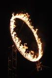 Anello di INCANDESCENZA di fuoco 2013 Fotografie Stock Libere da Diritti