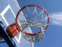 Anello di pallacanestro. Fotografia Stock