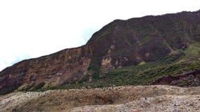 Anello di Papandayan Indonesia della montagna di fuoco vulcanico Immagini Stock