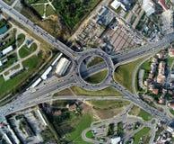 Anello di Prishtina Fotografia Stock