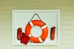 Anello di risparmio di vita Fotografia Stock