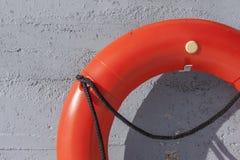 Anello di vita sul wal Fotografia Stock