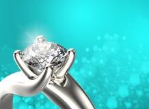 Anello dorato con il diamante Priorità bassa nera dei monili del tessuto dell'argento e dell'oro immagine stock