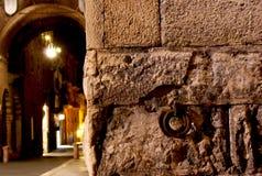 Anello e Verona del ferro Immagine Stock
