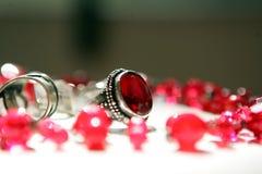Anello ed accessori Fotografie Stock