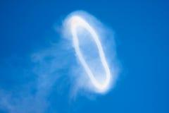 Anello gigante del fumo immagini stock libere da diritti
