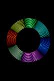 Anello leggero multicolore Fotografia Stock