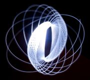 Anello leggero simmetrico Fotografia Stock
