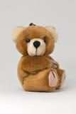 Anello portachiavi dell'orso dell'orsacchiotto Fotografia Stock