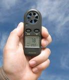 Anemómetro Imagenes de archivo