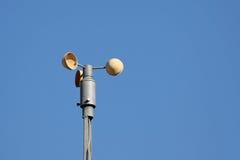Anemômetro no vento Imagem de Stock