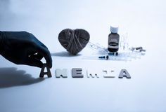 anemia imagen de archivo