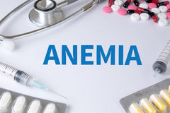 ANEMIA Royalty Free Stock Photography