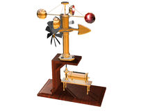 anemometer Royaltyfri Illustrationer