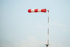 Anemometer in the air alone Royalty Free Stock Photography