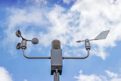 Free Anemometer And Wind Vane On Blue Sky Stock Photos - 44598993