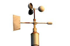 Anemometer Isolated  Royalty Free Stock Photos