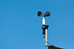 Anemometer at a Weather Station Stock Photos