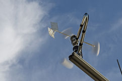Anemometer and wind vane Stock Photo