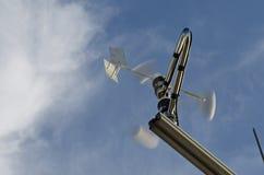 Anemometer and wind vane Stock Photo