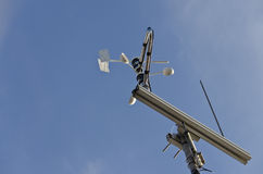 Anemometer and wind vane Royalty Free Stock Image