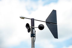 Anemometers Royalty Free Stock Images