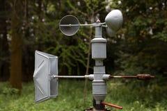 anemometerutrustningmeteorology Arkivbild
