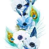 anemones Fotografia de Stock Royalty Free