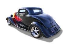 Anerican经典旧车改装的高速马力汽车 免版税图库摄影