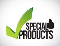 Anerkannte Konzeptillustration der speziellen Produkte Lizenzfreie Stockfotos