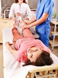 Anestesia per chirurgia. Fotografie Stock Libere da Diritti