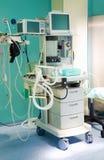 anestesiologiutrustningsjukhus Arkivfoto