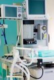 anestesiologiutrustningsjukhus Royaltyfri Fotografi