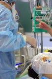 Anestesista Fotografie Stock Libere da Diritti