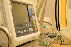Anesthésistes dans la salle d'opération avant chirurgie Photo stock
